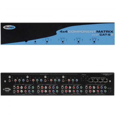 Gefen EXT-COMPAUD-CAT5-444 4x4 Component w/Audio Matrix (