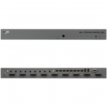 Gefen EXT-DVIKVM-841DL 8x1 DVI KVM DL Switcher