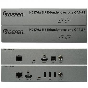 Gefen EXT-HDKVM-ELR HDKVM ELR Extender for HDMI and USB over One CAT5