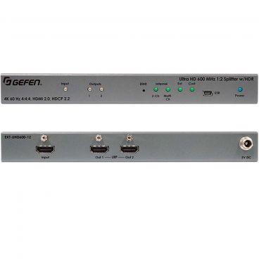 Gefen EXT-UHD600-12 4K Ultra HD 600 MHz 1:2 Splitter w/ HDR