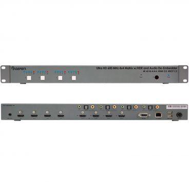 Gefen EXT-UHD600A-44 4K Ultra HD 600 MHz 4x4 Matrix