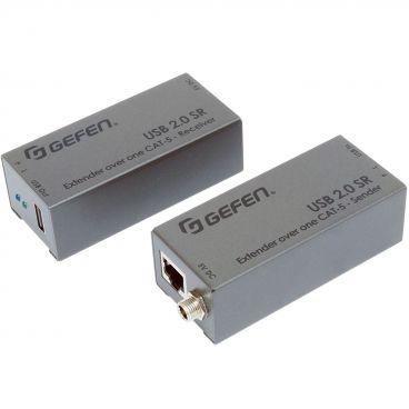 Gefem EXT-USB2.0-SR USB 2.0 SR Extender over one CAT-5 Cable