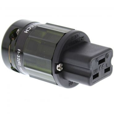 Furutech FI-32 16A IEC Connector - Rhodium