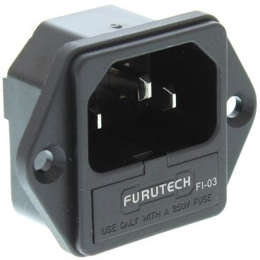 Furutech FI-03 High Performance IEC Inlets - Rhodium