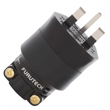 Furutech FI-1363 NCF Rhodium Top-of-the-Line UK Mains Connector