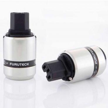 Furutech FI-48 IEC Connector - Rhodium