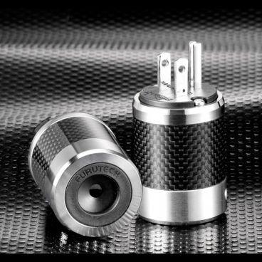 Furutech FI-50M High End Performance AC Power Connector - Rhodium