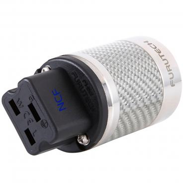 Furutech FI-52 NCF Rhodium High End Performance NCF 20A IEC connector
