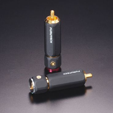 Furutech FP-110 Gold High Performance Audio RCA Connectors - Pack of 4