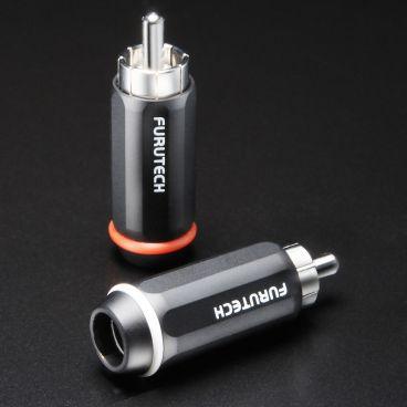 Furutech FP-126 Rhodium High Performance Audio RCA Connectors - Pack of 4