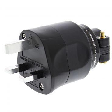 Furutech FI-1363 UK Mains Plug - Silver