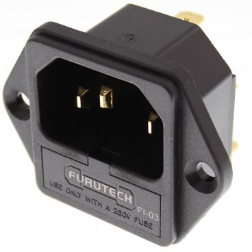 Furutech FI-03 High Performance IEC Inlets - Gold