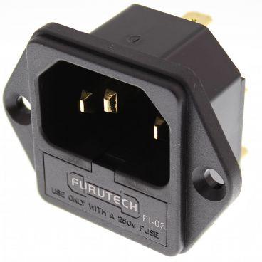Furutech FI-03 High Performance IEC Inlets - Gold
