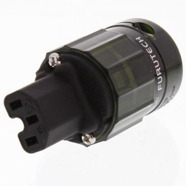 Furutech FI-28 IEC Connector - Rhodium