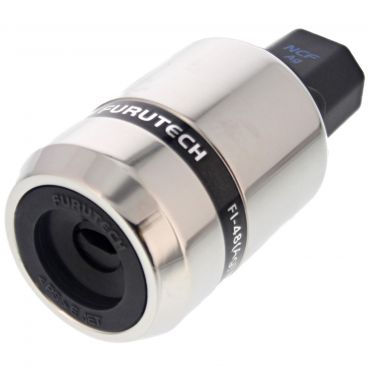 Furutech FI-48 NCF High-End Performance IEC Connector - Silver