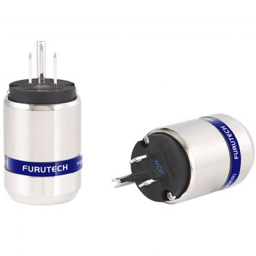 Furutech FI-48M NCF High-End Performance US Connector - Rhodium