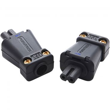 Furutech FI-8N NCF High End Performance Figure 8 Connectors - Rhodium
