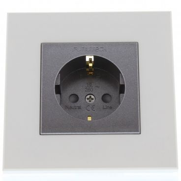 Furutech FP-SWS High Performance Schuko Wall Socket - Gold