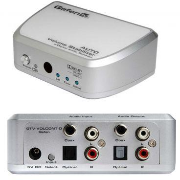 Gefen GTV-VOLCONT-D Auto Volume Stabilizer w/ Digital Audio Decoder
