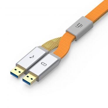 iFi Audio Gemini 3.0 Dual-Headed USB Audio Cable - USB Type A Plugs