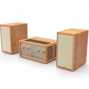 iFi Audio Retro Stereo 50 Amplifier & Retro LS3.5 Speakers