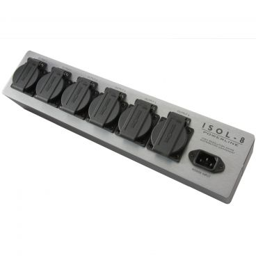 ISOL-8 PowerLine 6 Way Mains Block