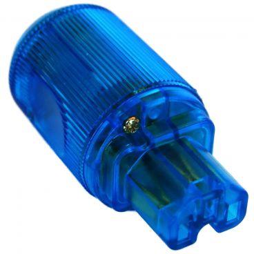 MS HD Power 'The Blue' 10A IEC Plug Gold - MS9315GK