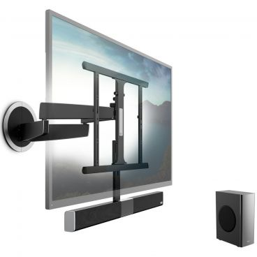 Vogels SoundMount NEXT 8365 Full-Motion TV Wall Mount with Integrated Sound