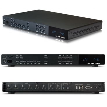 CYP OR-HD62CD 6x2 UHD HDMI Switch with Audio De-Embedding