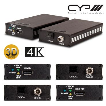 CYP PRO-HDMIFO-4K HDMI to Optical Transmitter & Receiver kit (4K Resolution Support)