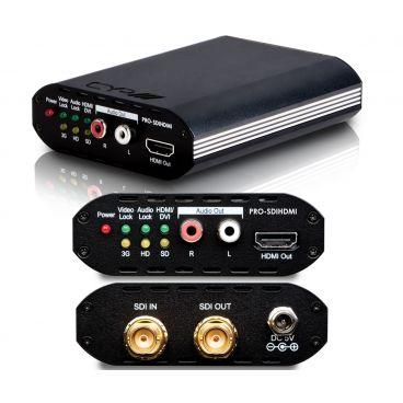 CYP PRO-SDIHDMI SDI to HDMI Converter with SDI Bypass