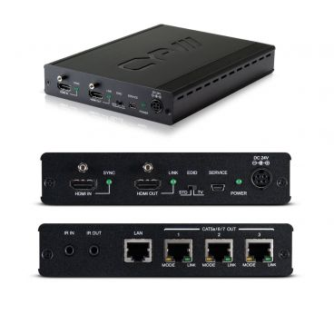CYP PU-1H3HBTE 1x3 HDMI HDBaseT Splitter (100m) including additional HDMI output (HD Distribution)