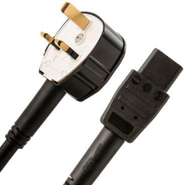 QED XT5 Mains Power Cable - UK Plug