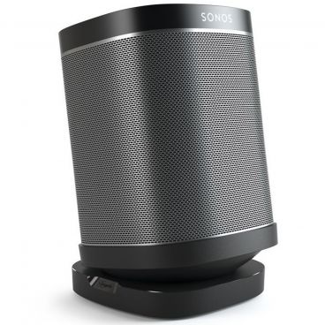 Vogels SOUND 4113 Table-top Speaker Stand for SONOS ONE, PLAY:1 and PLAY:3 - Black