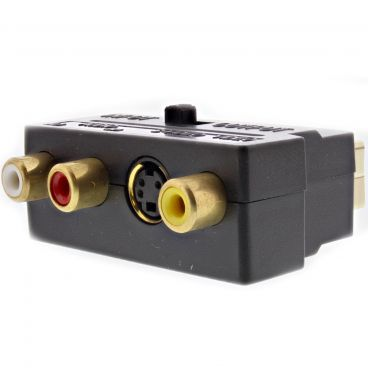 FSUK High Quality SCART-ADPT Switchable Scart Adapter