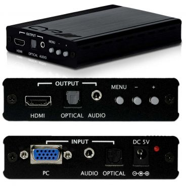 CYP SY-P293 PC to HDMI Scaler Converter with Audio