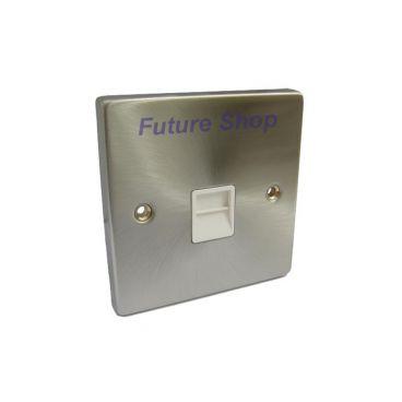 FSUK DECO-TELEPHONE-PLATE Click Deco Telephone Socket Master