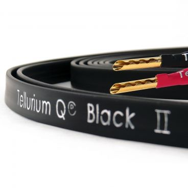 Tellurium Q, Black II Speaker Cable - Factory Terminated