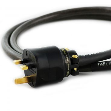 Tellurium Q, Black UK to IEC Mains Cable