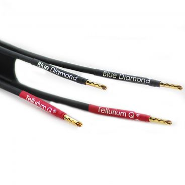 Tellurium Q, Blue Diamond Speaker Cable - Factory Terminated