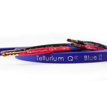 Tellurium Q Blue II Speaker Cable - Factory Terminated