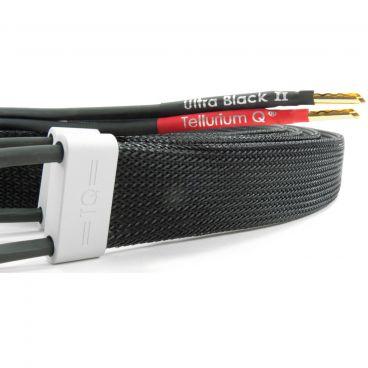 Tellurium Q Ultra Black II Speaker Cable - Factory Terminated