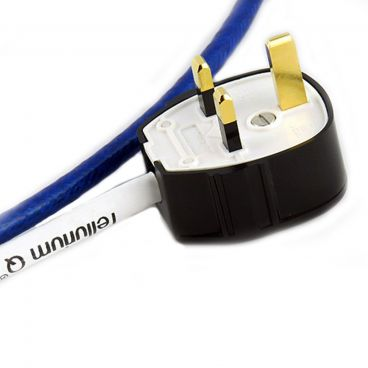 Tellurium Q Ultra Blue UK to IEC Mains Cable - 1.5m (Special Offer)