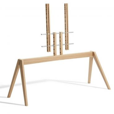 Vogels NEXT OP2 TV Floor Stand (Light Oak)