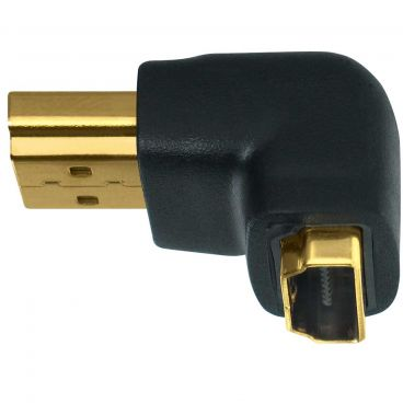 Wireworld HDMI-Male to Right Angle Female-HDMI Adaptor