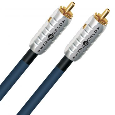 Wireworld Luna 8 2 RCA to 2 RCA Audio Cable