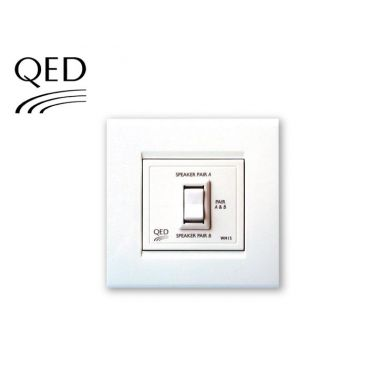 QED WM15 Two-Way Speaker Switch (Parallel Switching)