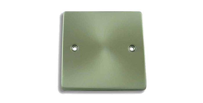 FSUK WP-0001 Click Deco 1 Gang Blank Plate