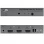 Gefen EXT-DVIKVM-241DL. 2x1 DVI KVM DL Switcher