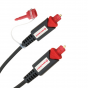 Oehlbach Red Opto Star, Toslink Digital Optical Cable